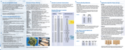 Prepreg Bonding Materials European Product Offering How to use the Pocket Guide