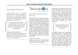 How to transfer money from South Africa Easy Investing with TreasuryOne