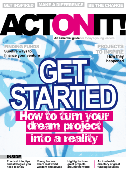 Get Started ACT IT!