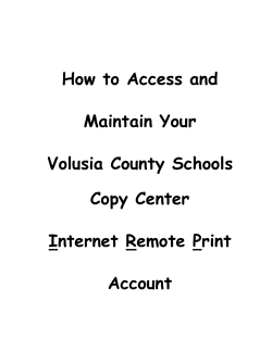 How to Access and Maintain Your Volusia County Schools