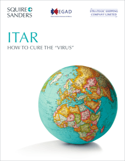 "ITAR How To CuRe THe ""VIRus"""