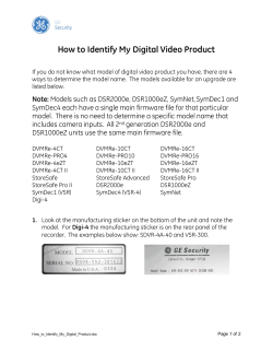 How t o I dentify My Digital V