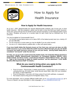 How to Apply for Health Insurance How to Apply for Health Insurance R