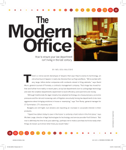 Modern Office T The