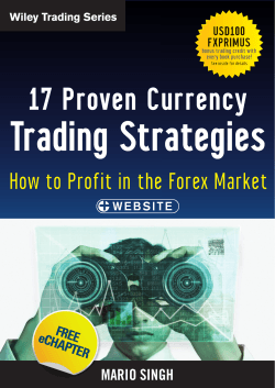 Trading Strategies 17 Proven Currency How to Profit in the Forex Market