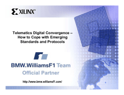 Telematics Digital Convergence – How to Cope with Emerging Standards and Protocols