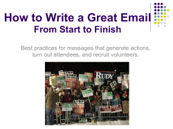How to Write a Great Email From Start to Finish