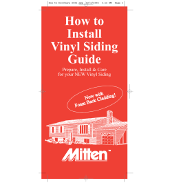 How to Install Vinyl Siding Guide