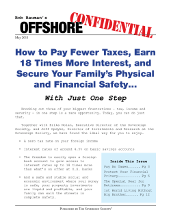 How to Pay Fewer Taxes, Earn 18 Times More Interest, and