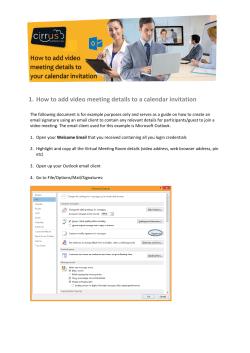 1. How to add video meeting details to a calendar invitation    How to add video  meeting details to