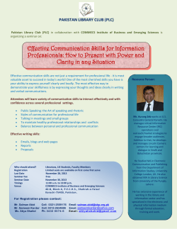 Effective Communication Skills for Information Clarity in any Situation