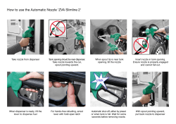 How to use the Automatic Nozzle 'ZVA Slimline 2'
