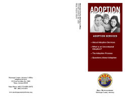 About Adoption Services  What is an Uncontested Adoption?