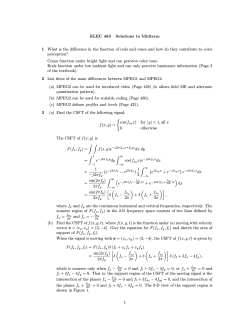 ELEC 483 Solutions to Midterm