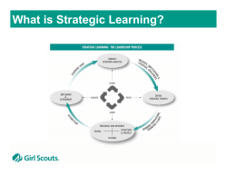 What is Strategic Learning?