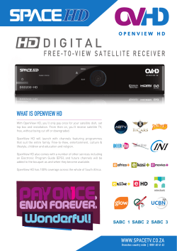WHAT IS OPENVIEW HD