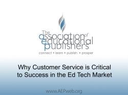 Why Customer Service is Critical