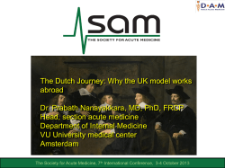 The Dutch Journey: Why the UK model works abroad