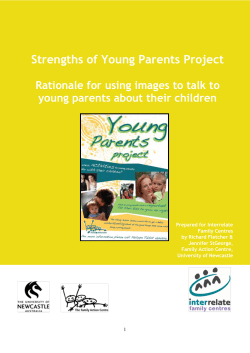Strengths of Young Parents Project young parents about their children