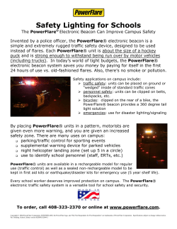 Safety Lighting for Schools