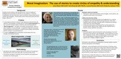 Moral Imagination:  The use of stories to create circles...  Background Results