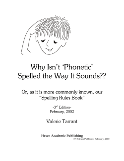 Why Isn't 'Phonetic' Spelled the Way It Sounds??