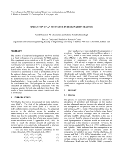 Proceedings of the 2005 International Conference on Simulation and Modeling