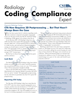 & Coding  Compliance