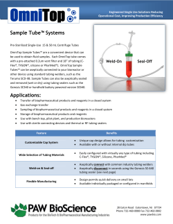 Sample Tube™ Systems