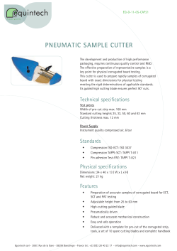PNEUMATIC SAMPLE CUTTER