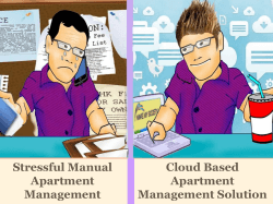 Stressful Manual Cloud Based Apartment Management