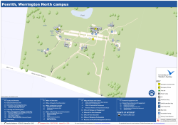 Penrith, Werrington North campus POINTS OF INTEREST AA AD