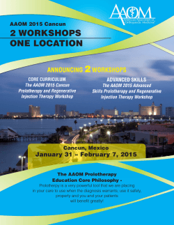 2 2 WORKSHOPS ONE LOCATION ANNOUNCING