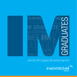 Join the UK's largest full-service law firm