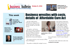 Business wrestles with costs, details of  Affordable Care Act This week