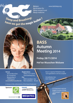 BASS Autumn Meeting 2014