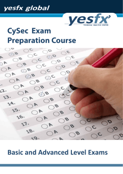 CySec  Exam Preparation Course Basic and Advanced Level Exams