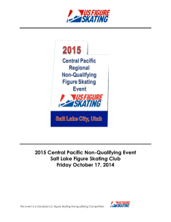 2015 Central Pacific Non-Qualifying Event Salt Lake Figure Skating Club