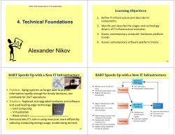 4. Technical Foundations Learning	Objectives