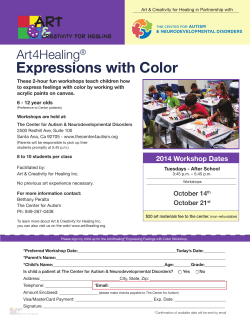 Expressions with Color Art4Healing ®