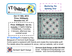 VT Quilting B