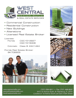 • Commercial Construction Residential Construction New Buildings