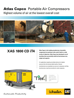 Atlas Copco XAS 1800 CD iT4