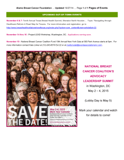 Pages of Events Alamo Breast Cancer Foundation Updated