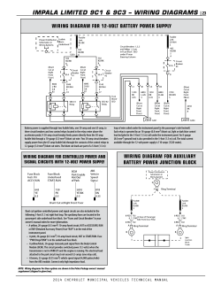ImPaLa LImIted 9c1 & 9c3 – wIrIng dIagrams | 23