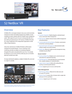 S2 NetBox VR Overview Key Features
