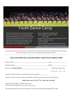 Youth Dance Camp
