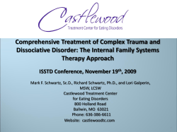 Comprehensive Treatment of Complex Trauma and Therapy Approach