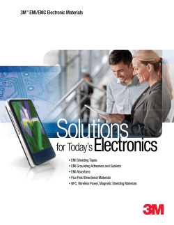 Solutions Electronics for Today's 3M
