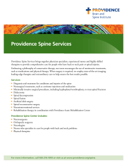 Providence Spine Services